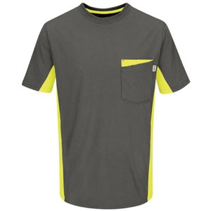 Workwear Color Blocked Visibility T-Shirt