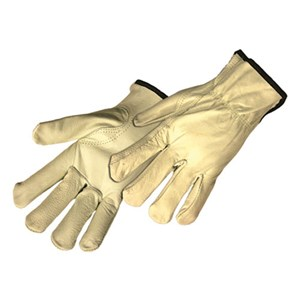 Grain Cowhide Leather Driver Gloves