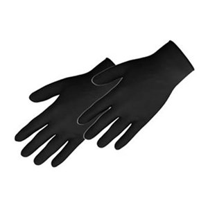 5.1 Mil Black Nitrile Glove