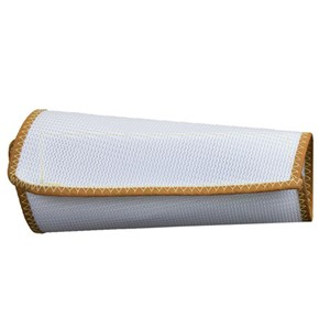 "9"" Two-Ply White Nylon Mesh Wristlet"