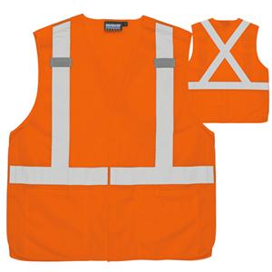 Class 2 Breakaway X-Back Hi-Vis Vest