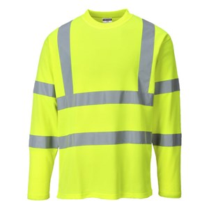 Hi-Vis Comfort Long Sleeve T-Shirt