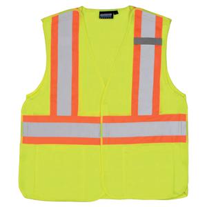 Class 2 Two-Tone Breakaway Hi-Vis Vest