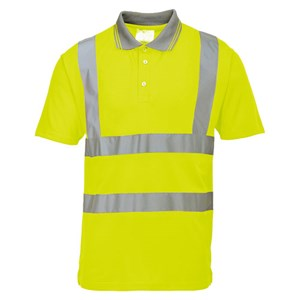 Hi-Vis Short Sleeve Polo