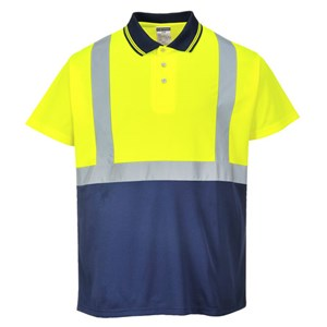 Hi-Vis Two Tone Polo