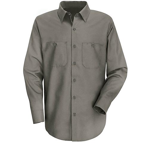 long sleeve cotton work shirt
