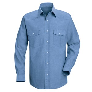 Deluxe Western-Style Long Sleeve Shirt