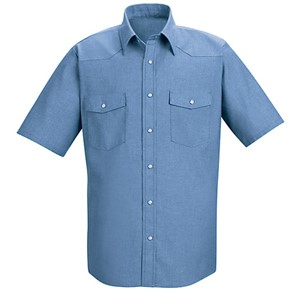 Deluxe Western-Style Short Sleeve Shirt