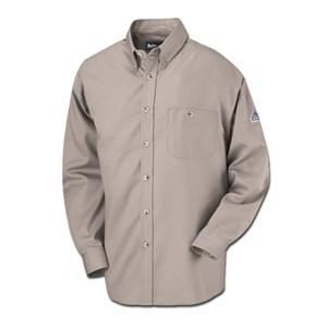 Bulwark Button-Front FR Dress Shirt - LG & XL ONLY