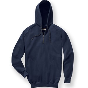Pullover Quarter-Zip Hooded FR Fleece Sweatshirt