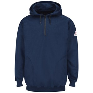 FR 1/4 Zip Hooded Fleece Sweatshirt