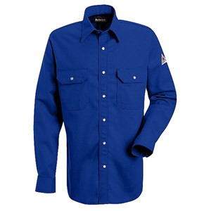 Snap-Front FR Uniform Shirt in Excel FR Cotton