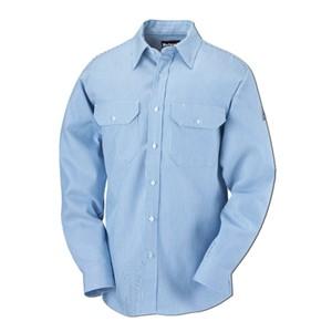 EXCEL FR 100% Cotton Striped Uniform Shirt