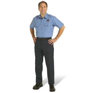 Mens Short Sleeve Public Safety Shirt