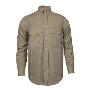 TECGEN CC 6 oz. FR Button Down Shirt