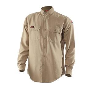 TECGEN FR Premium Vented Shirt in Khaki