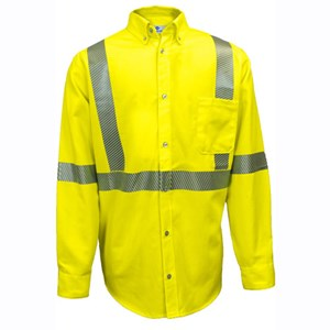 UltraSoft Hi-Vis FR Work Shirt