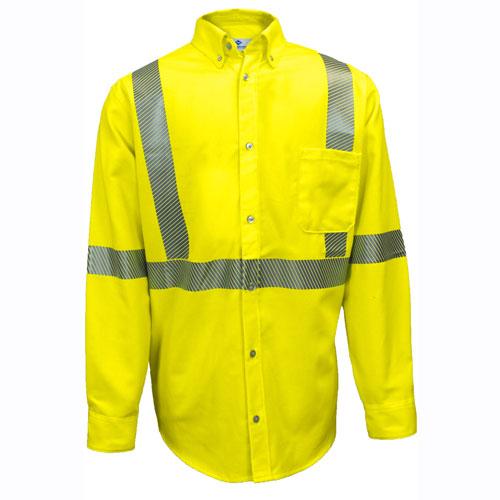 98644f2c56c6 Ultrasoft Hi-Vis FR Work Shirt - SHRTD3C3
