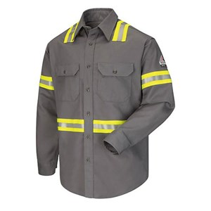 EXCEL FR ComforTouch Enhanced-Vis Uniform Shirt