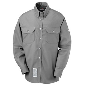 FR Uniform Shirt in EXCEL FR ComforTouch in Silver