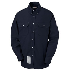 FR Uniform Shirt in EXCEL FR ComforTouch in Navy