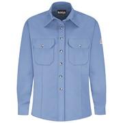 FR Womens Button Front Dress Uniform Shirt in Excel-FR Cotton Blend