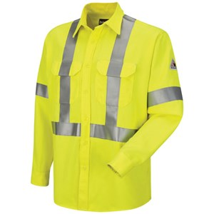 FR Hi-Vis Uniform Shirt in CoolTouch 2