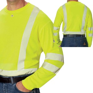 Hi-Vis FR Long Sleeve Tee Shirt