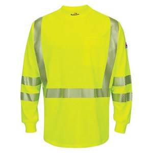 Bulwark FR Hi-Vis Lightweight Long Sleeve Shirt