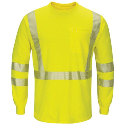 64a37377db33 Bulwark FR Hi-Vis Lightweight Shirt - SMK8HV