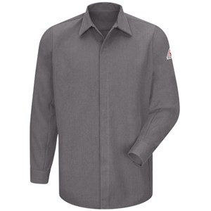 FR Concealed Gripper Pocketless Shirt