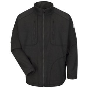 Full-Zip Grid Fleece FR Sweatshirt