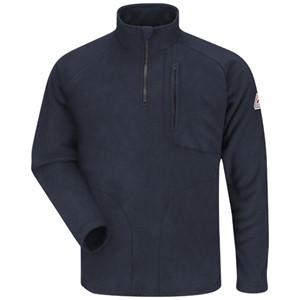 Quarter Zip-Front Modacrylic FR Sweatshirt