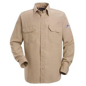 Snap-Front FR Uniform Shirt in Nomex IIIA