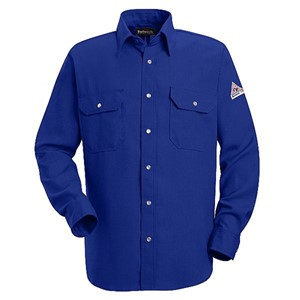 Snap-Front FR Uniform Shirt in Nomex IIIA