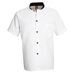 Black-Trim Cook Shirt