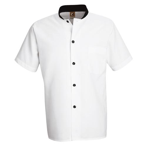 Black-Trim Cook Shirt