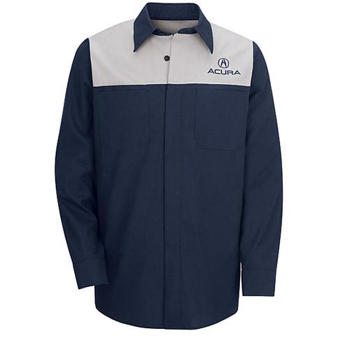 Long Sleeve Acura Technician Shirt
