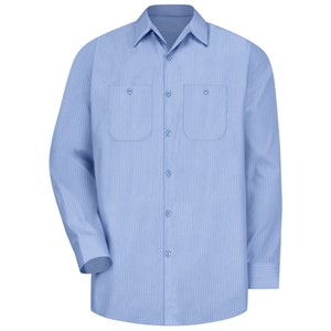 Durastripe Long Sleeve Work Shirt