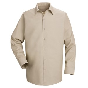 Specialized Long Sleeve Pocketless Work Shirt