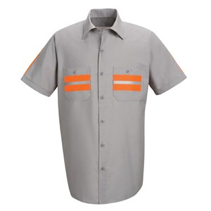 Short Sleeve Enhanced Visibility Shirt