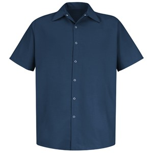 Specialized Short Sleeve Pocketless Work Shirt