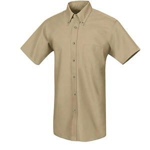 Poplin Short Sleeve Dress Shirt