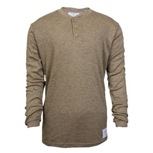 Spentex FR Long Sleeve Henley in Tan