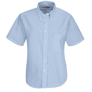 Executive Short Sleeve Oxford Dress Shirt