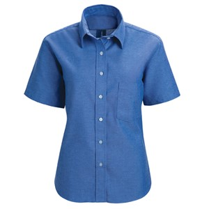 Short Sleeve Oxford Dress Shirt