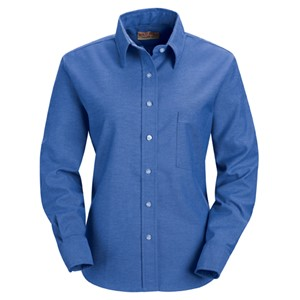 Long Sleeve Oxford Dress Shirt