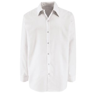 Specialized Pocketless Long Sleeve Polyester Work Shirt