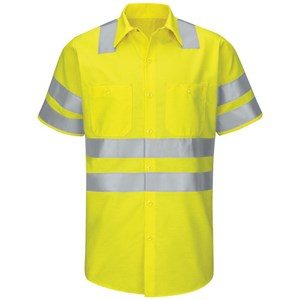 Hi-Vis Short Sleeve Class 3 Work Shirt