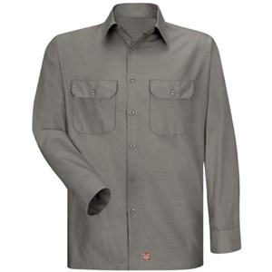 Long Sleeve Solid Ripstop Shirt